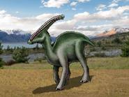 Dm parasaurolophus