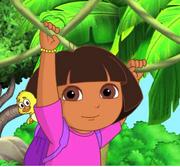 Dora Swinging (3)