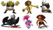 Dreamworks Animation Franchise Characters