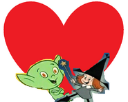 Goodie and Halfwitch love together