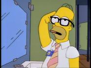 Homer Simpson as Moskito
