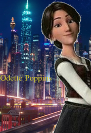 Odette Poppins (Mary Poppins) Poster