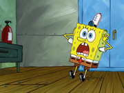 Spongebob screaming