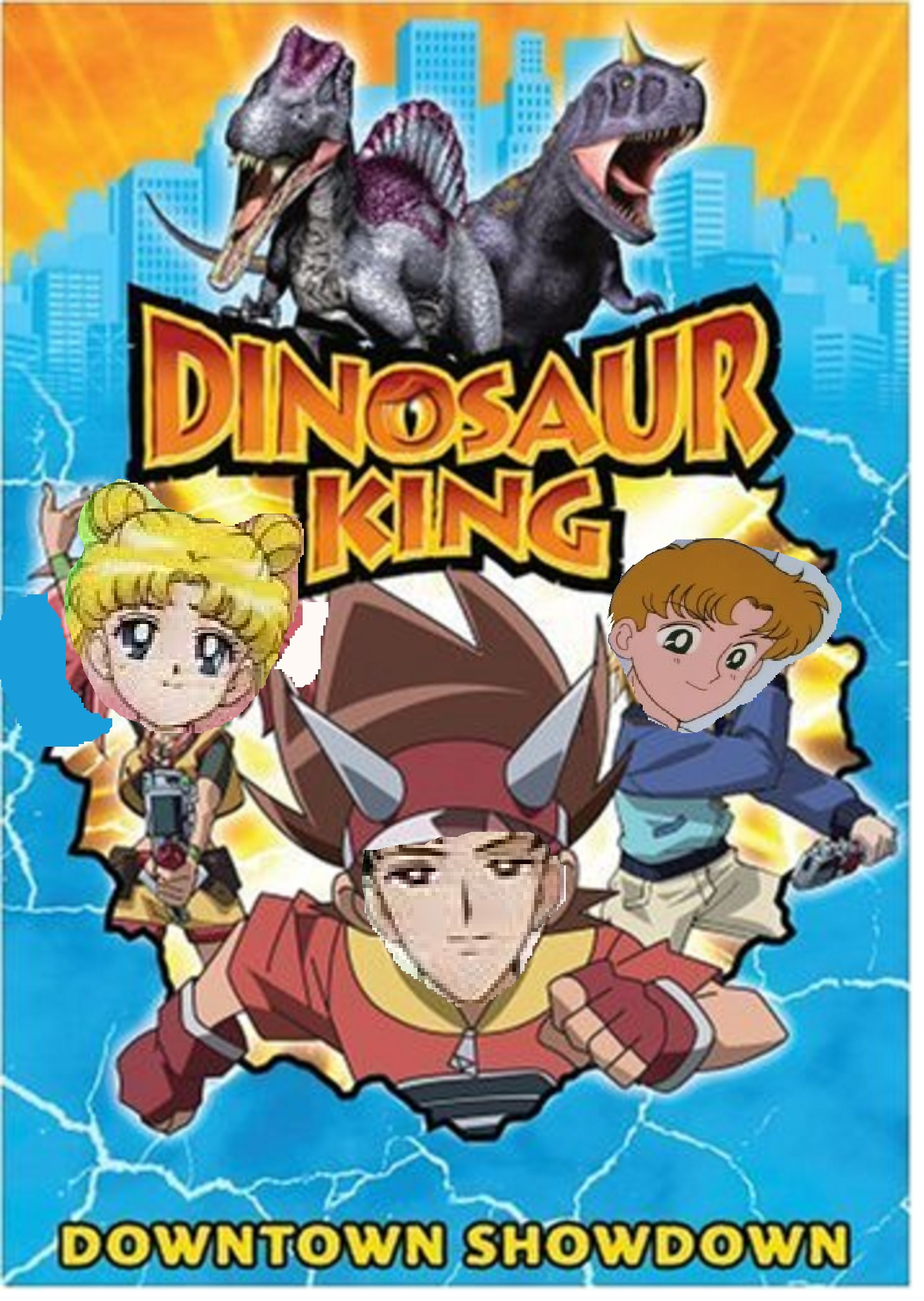 Dinosaur king 397movies human style the parody wiki - Dinosaure king ...