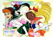 Sailor Scouts Daphne and Nani