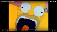 Shocked Homer Falling Down the Stairs