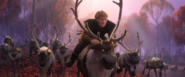 Sven And his reindeer pals