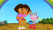 Dora and boots on Best Friends Day