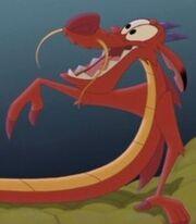Mushu in Mulan II