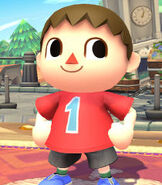 Villager (Male) in Super Smash Bros. for Wii-U and 3DS