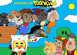 Adventures in Toonsville United (Disney and Sega Style) Poster