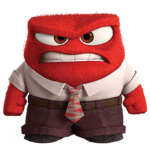 Anger fear inside out characters