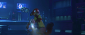 Judy and nick looks shocked