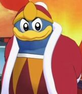King Dedede in Kirby Right Back at Ya