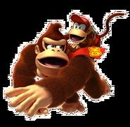 Donkey Kong and Diddy Kong