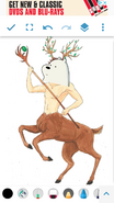 Ice bear the centaur