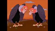 Simpsons Scary Vultures