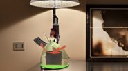 Starfire Attached to Diamond Destiny's Bedside Lamp Inspired by the Heroine(1)