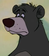 Baloo in The Jungle Book