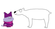 Chowder meets Polar Bear
