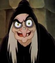 The Witch in Snow White and the Seven Dwarfs