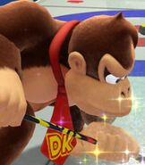 Donkey Kong in Mario and Sonic at the Sochi 2014 Olympic Winter Games