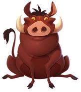 Pumbaa disney magic kingdoms