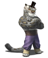 Tai Lung as Withered Freddy