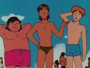 Three Boys at the Beach