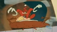 What A Cartoon George and Junior's Christmas Spectacular Crazy Bass Drum and Cymbal Crash 02