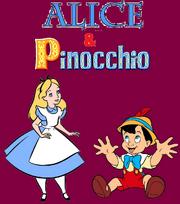 Alice and Pinocchio logo
