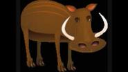 Safari Island Warthog