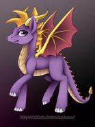 Spyro the Ponified Dragon