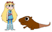 Star meets Nutria