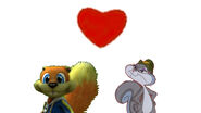 Conker and Slappy love together