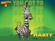 Marty the Zebra (Madagascar)
