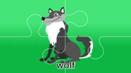 Nursery Tracks Wolf