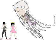 Riley and Elycia meets Lion's Mane Jellyfish