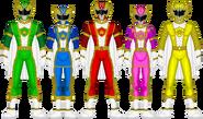 Roiyaru Sentai Spellranger