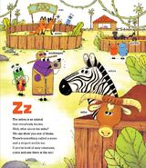 Zebras Cows Skunks and Foxes