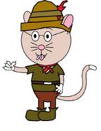 It's Andrew Catsmith (Robin Hood) (fake cigar)