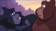 Tarzan II Gorillas