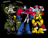 Team-Prime Transformers Animated Autobots Grou 1340114548