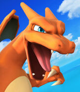 Charizard in Super Smash Bros. for Wii-U and 3DS