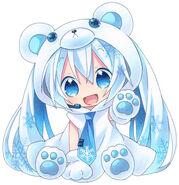 Hatsune Miku Polar Bear