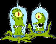 Kang and kodos simpsons