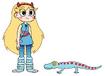 Star meets Tokay Gecko