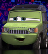 Miles Axelrod in Cars 2