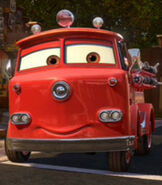 Red in Cars 2