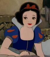 Snow White in Snow White and the Seven Dwarfs